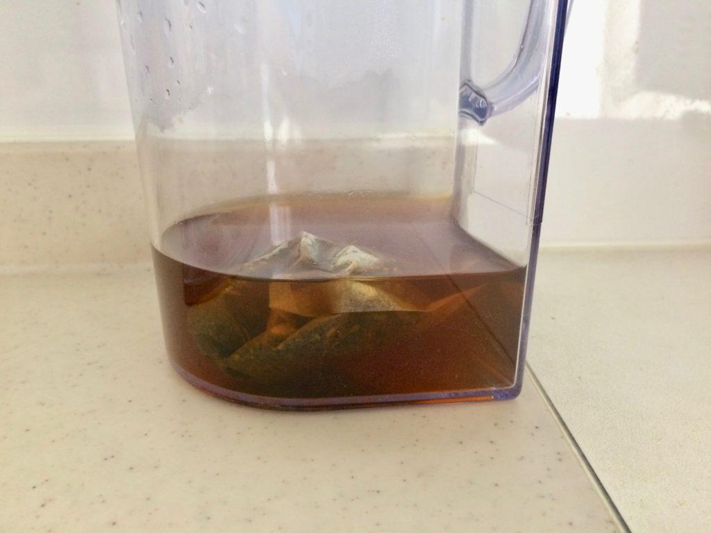 からだ楽痩茶の500ml完成