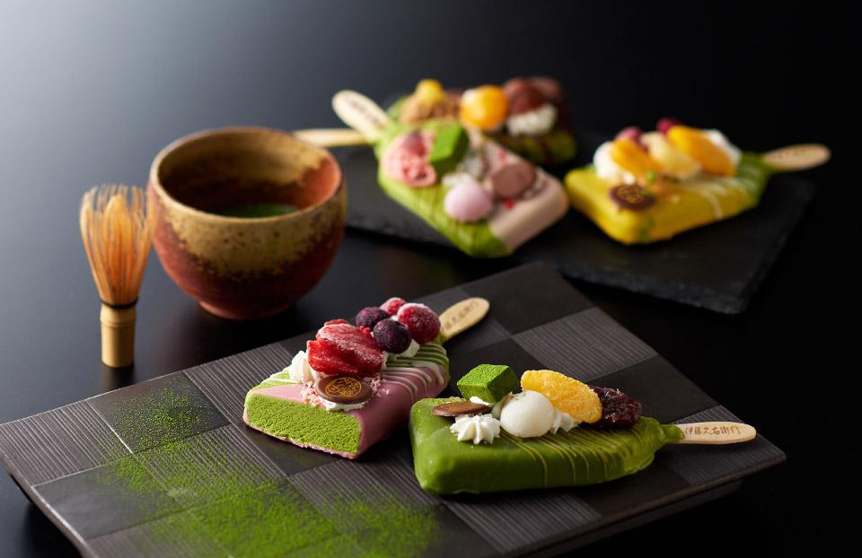 伊藤久右衛門の抹茶パフェアイスバーは5種
